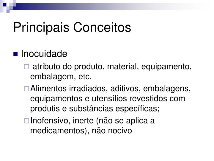 Principais Conceitos
