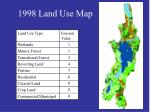 1998 land use map
