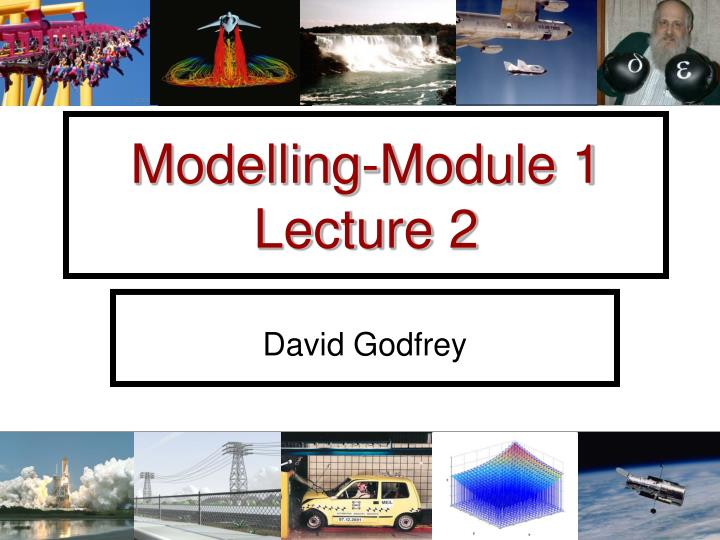 modelling module 1 lecture 2 n.