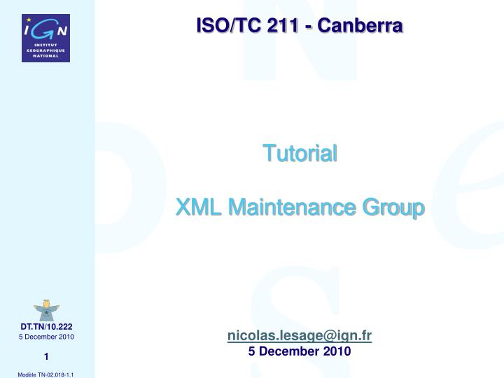 iso tc 211 canberra n.