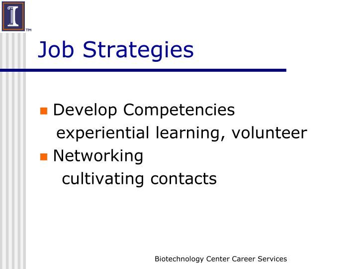 Job Strategies