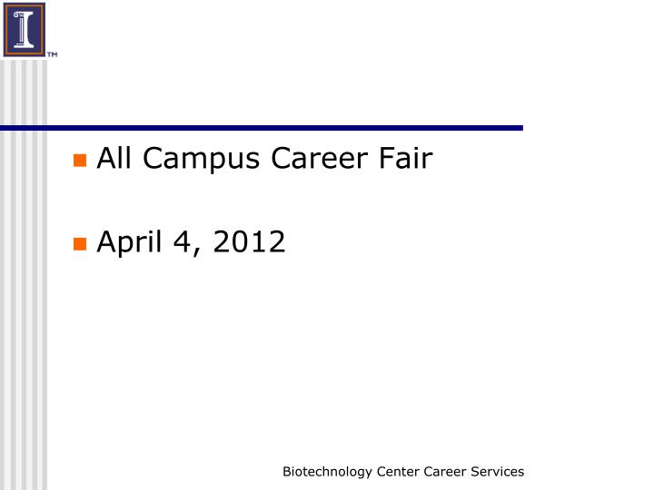 All Campus Career Fair