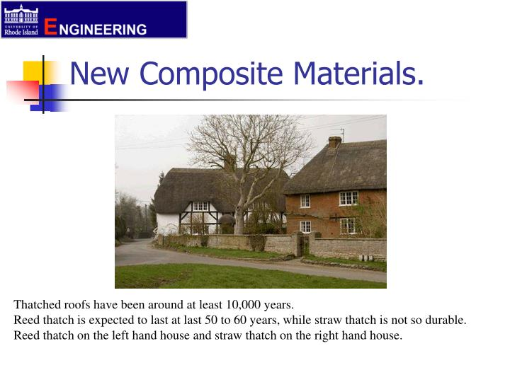new composite materials n.
