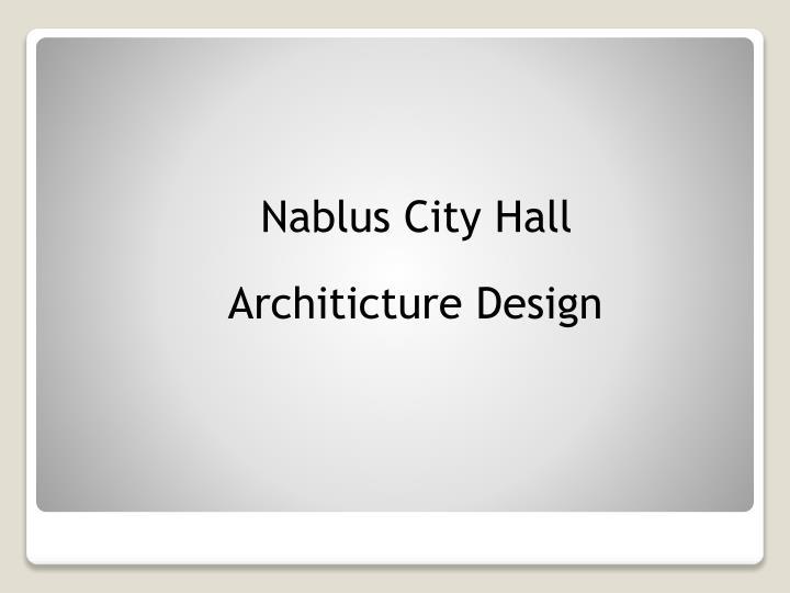 Nablus City Hall
