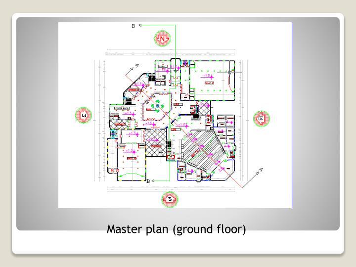 Master plan (ground floor)