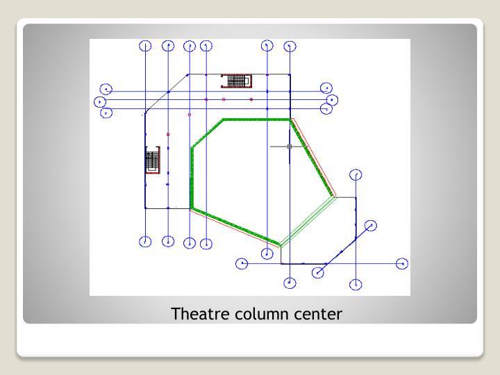 Theatre column center
