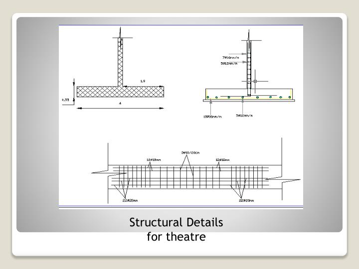 Structural Details for theatre