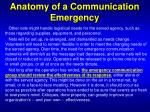 anatomy of a communication emergency2