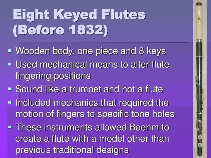 Eight Keyed Flutes