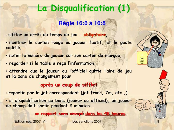La Disqualification (1)