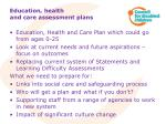 education health and care assessment plans