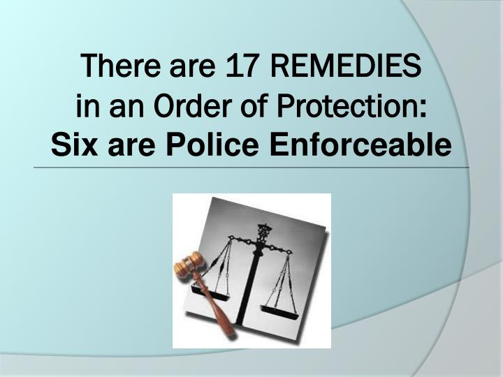 There are 17 REMEDIES