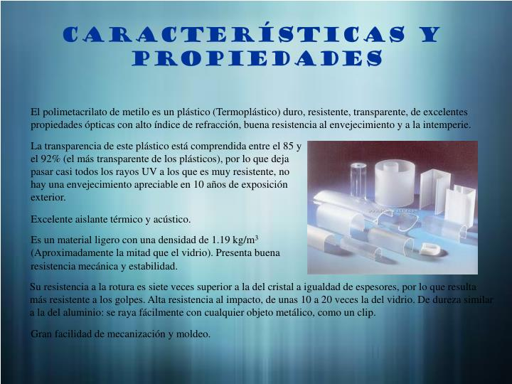 PPT - POLIMETACRILATO DE METILO (PMMA) PowerPoint Presentation - ID ...