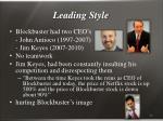 leading style