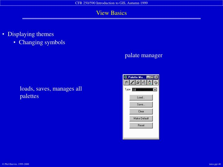 palate manager