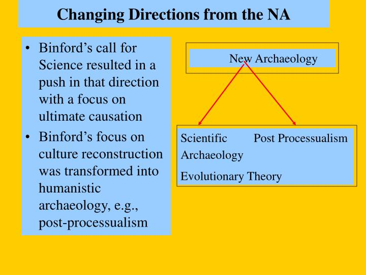 Changing directions from the na