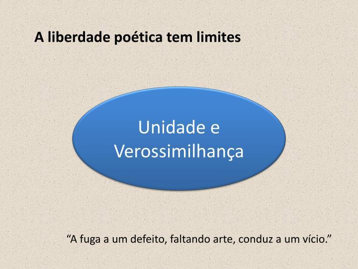 A liberdade poética tem limites
