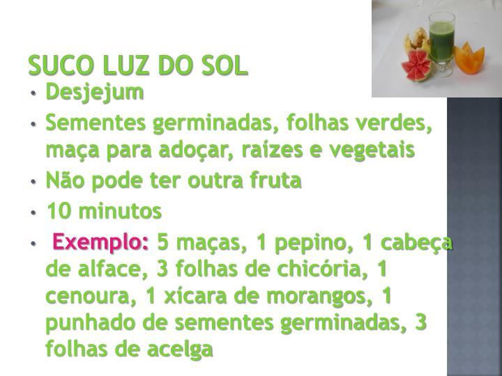 SUCO LUZ DO SOL