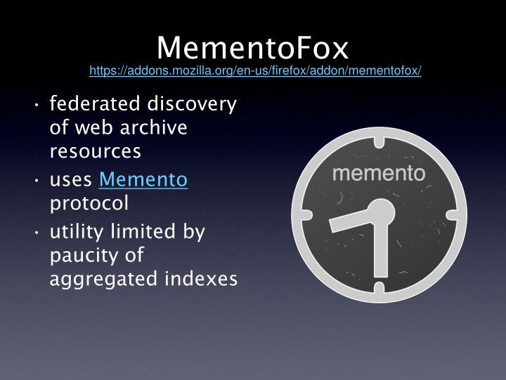 MementoFox