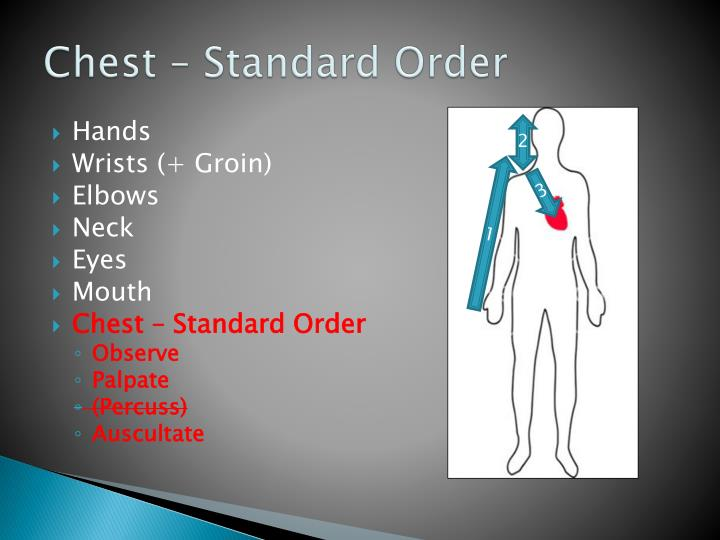 Chest – Standard Order