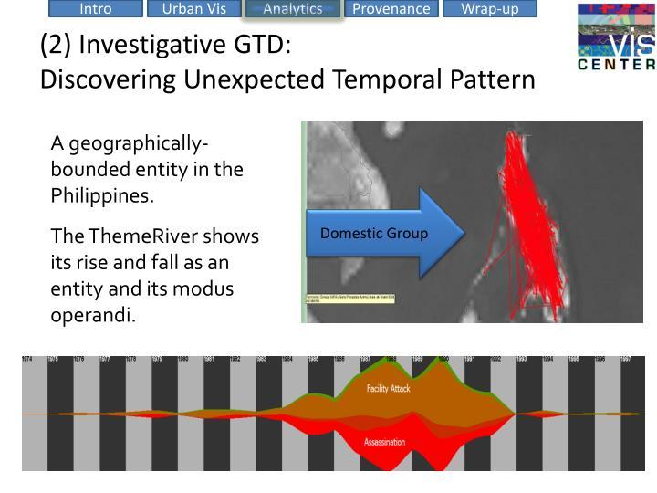 (2) Investigative GTD:
