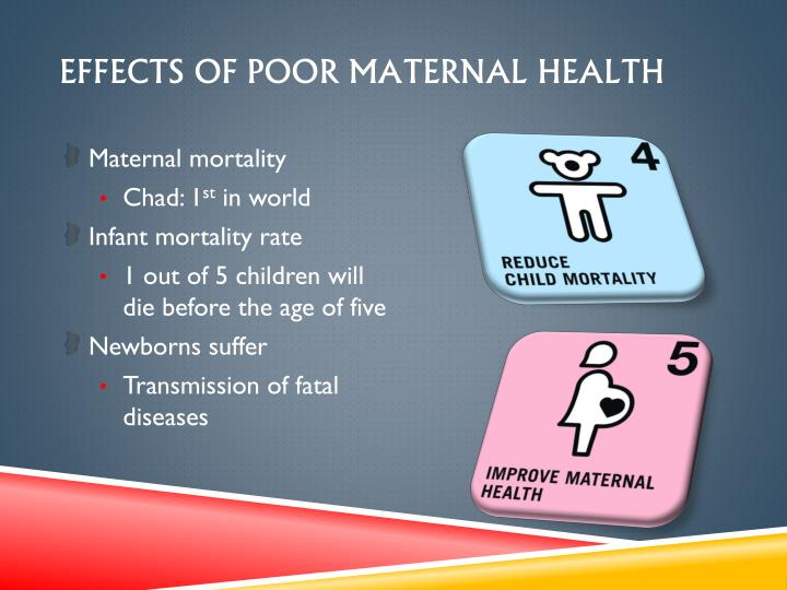 EFFECTS OF POOR MATERNAL HEALTH