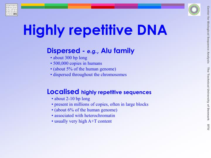 Highly repetitive DNA