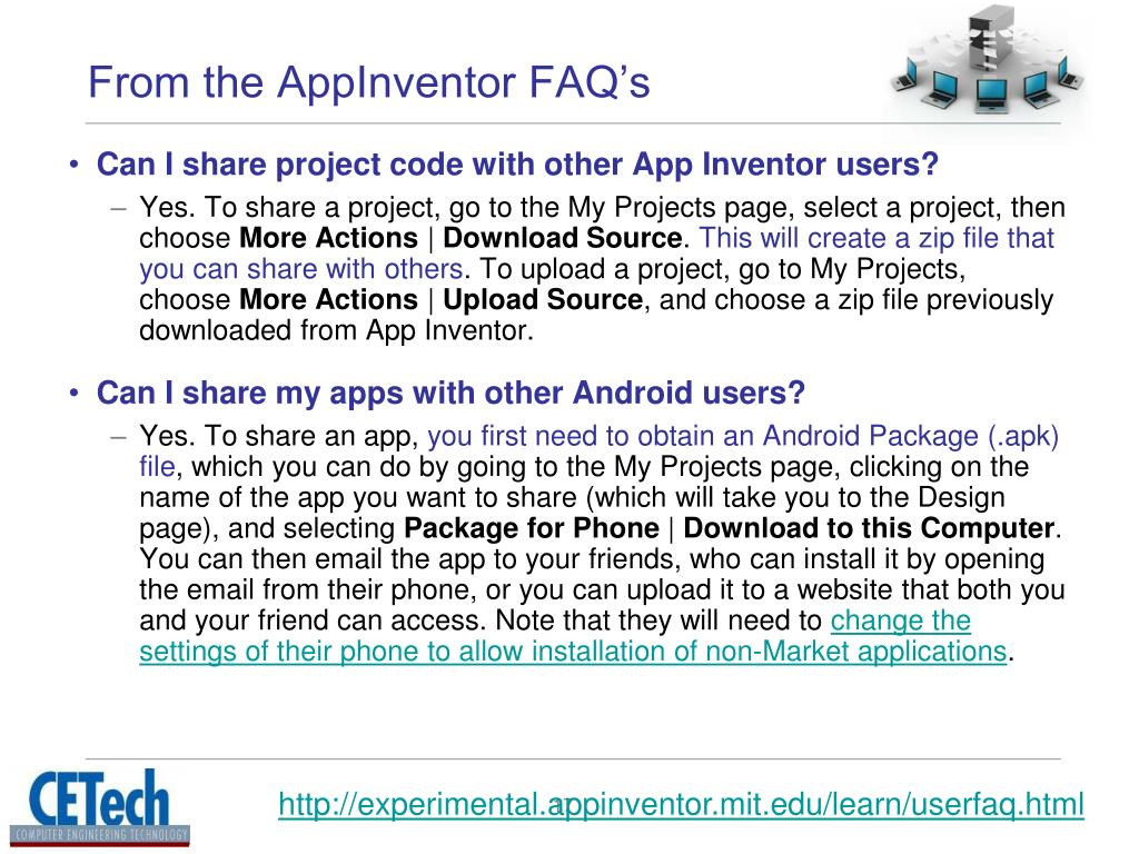 PPT - Introduction to AppInventor PowerPoint Presentation