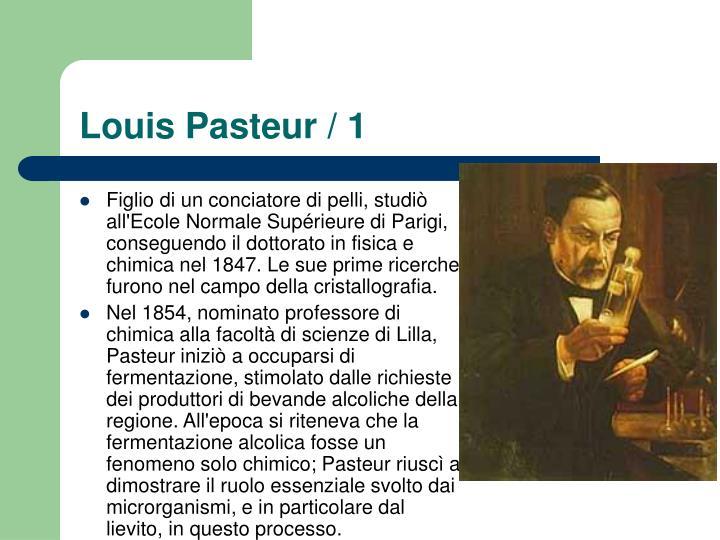 Louis Pasteur / 1
