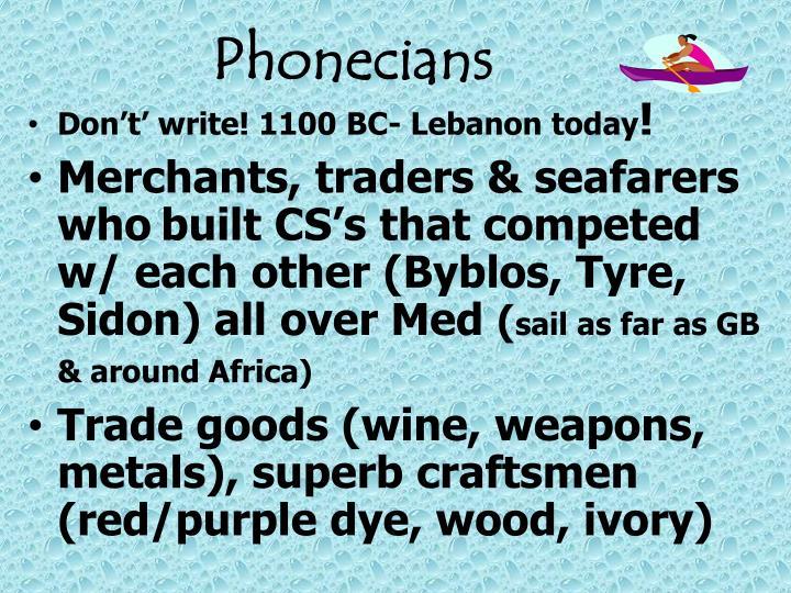 Phonecians