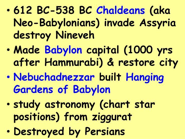 612 BC-538 BC