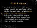 public ip address