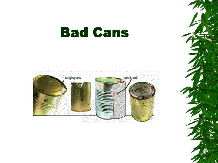 Bad Cans