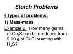 stoich problems3
