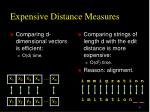 expensive distance measures1