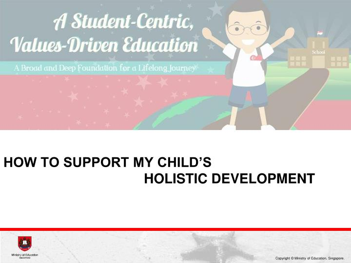 how to support my child's