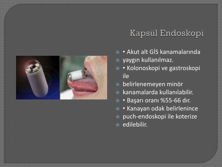 Kapsül Endoskopi