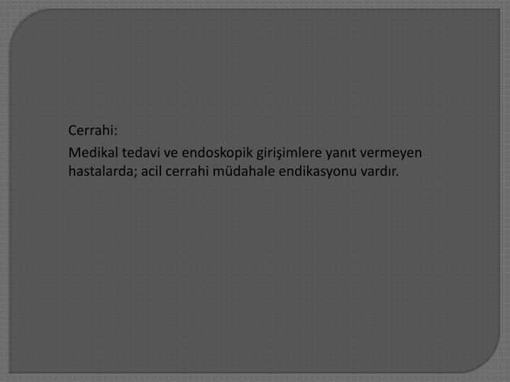 Cerrahi: