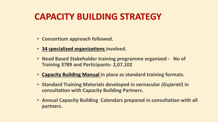 Capacity Building Strategy