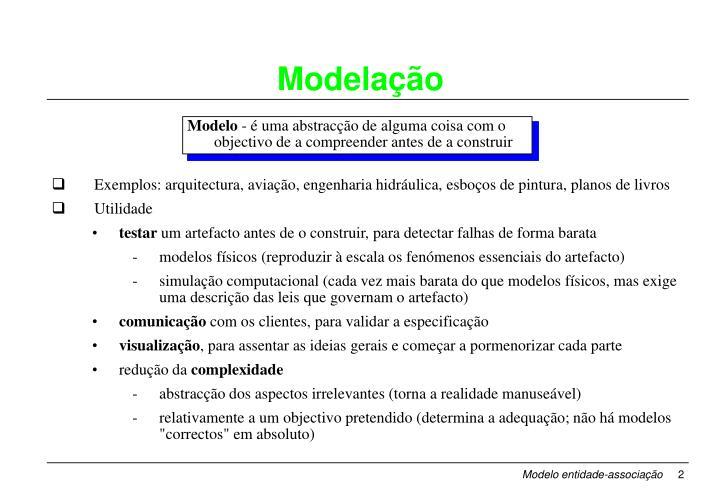 Modela o