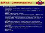 esf 2 communications1
