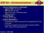 esf 2 communications2