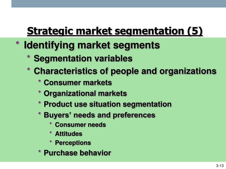 what is organizational market