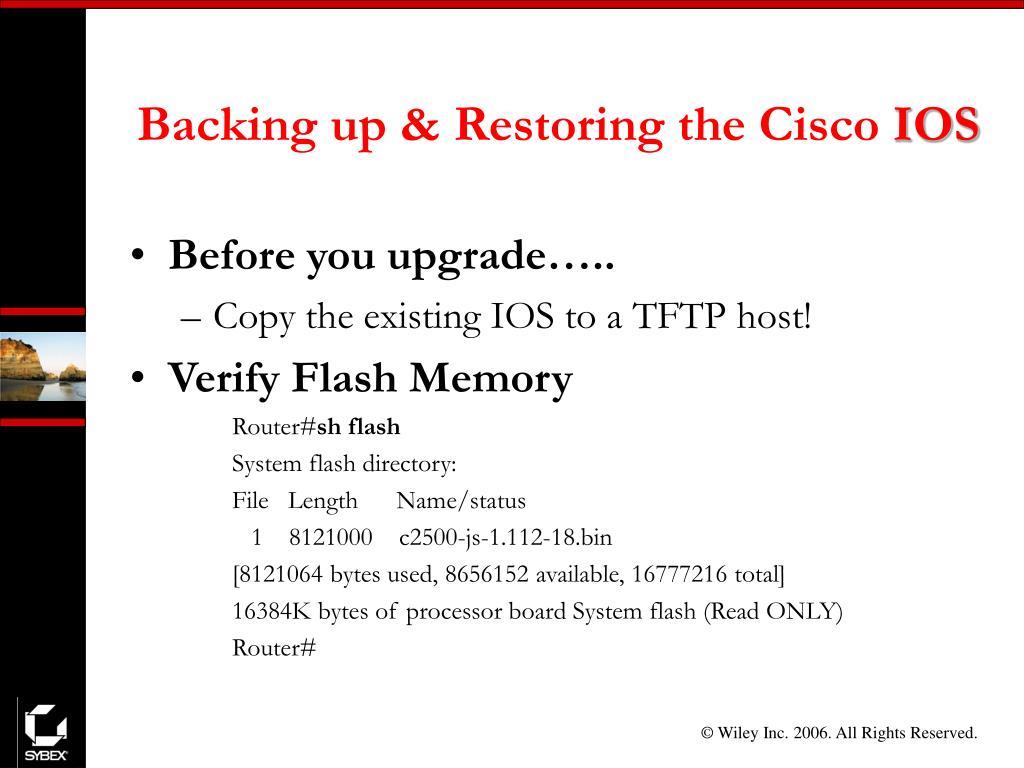 PPT - CCNA: Cisco Certified Network Associate Study Guide