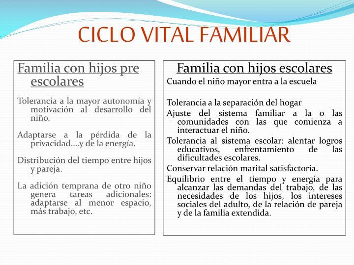 CICLO VITAL FAMILIAR