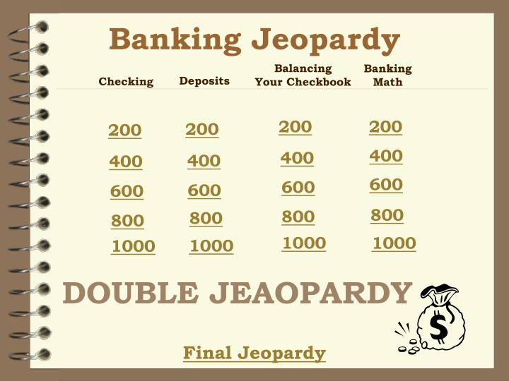 Banking Jeopardy