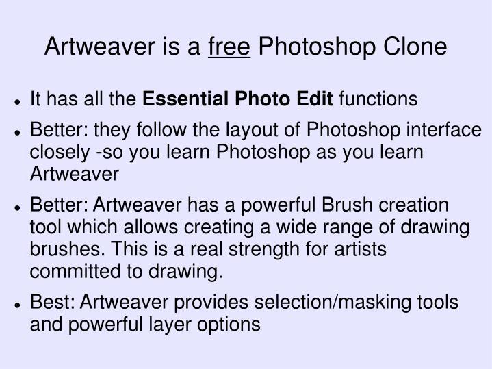 Artweaver is a