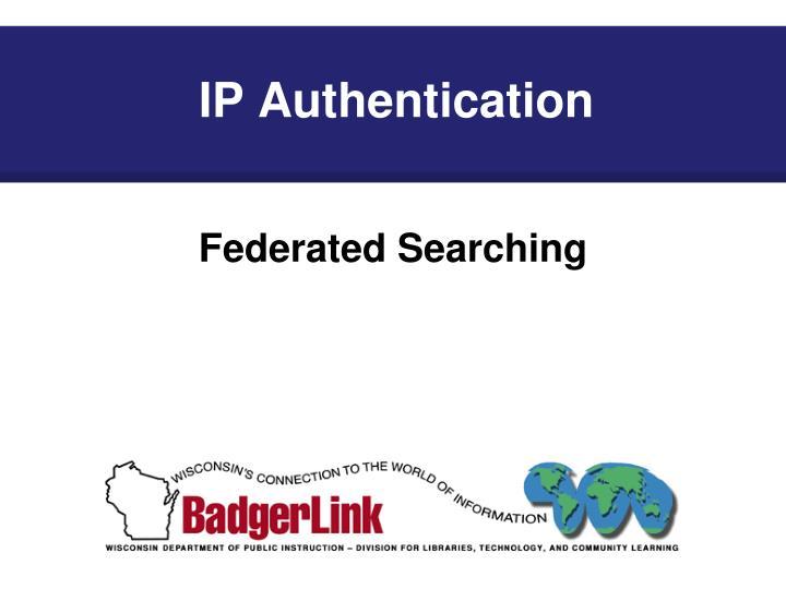 IP Authentication