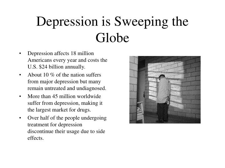 Depression is sweeping the globe
