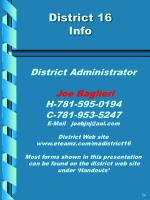 district 16 info